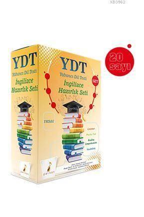 Yksdil YDT İngilizce Hazırlık Seti; (20 Sayı + Cevap Anahtarı)