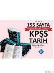 2018 KPSS Tarih Konu Anlatımlı Not Defteri