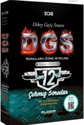 2018 DGS Son 12 Yıl Konulara Göre Ayrılmış Tamamı Çözümlü Çıkmış Sorular Video Destekli