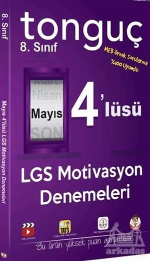 8.Sınıf Mayıs 4'Lüsü LGS Motivasyon Denemeleri