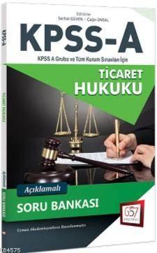2018 KPSS A Grubu Ticaret Hukuku Açıklamalı Soru Bankası