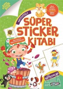 Süper Sticker - Hayvanlar