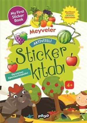 Aktiviteli Sticker Kitabı - Meyveler