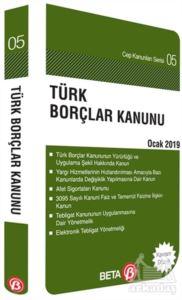 Türk Borçlar Kanunu Ocak 2019