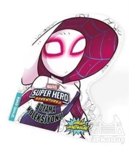 Spider-Gwen - Marvel Süper Kahramanlar Boyama Koleksiyonu