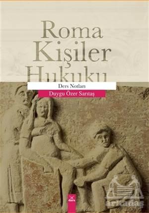 Roma Kişiler Hukuku - Ders Notları