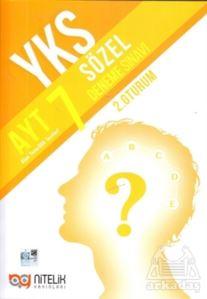 Nitelik YKS AYT Sözel 7 Deneme Sınavı 2.Oturum