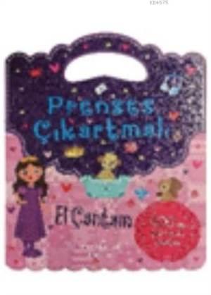 Prenses Çıkartmalı El Çantam