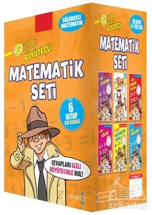 Gizli Büyüteçli Matematik (6 Kitap Set)