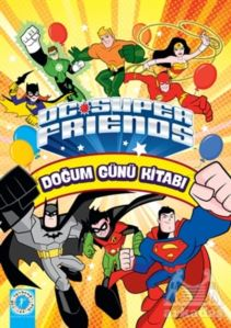 Dc Super Friends - Doğum Günü Kitabı
