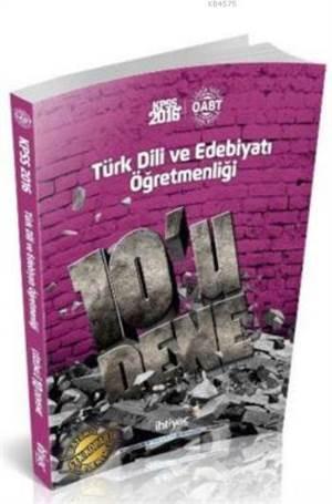 Öabt Kpss Türk Dili Ve Edebiyatı Öğretmenliği; 10 Lu Deneme 2016