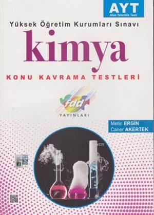 2018 AYT Kimya Konu Kavrama Testleri