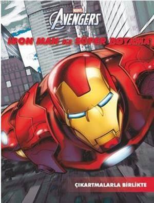 Iron Man İle Süper Boyama
