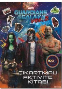 Marvel Guardians Of The Galaxy Vol 2; Çıkartmalı Aktivite Kitabı