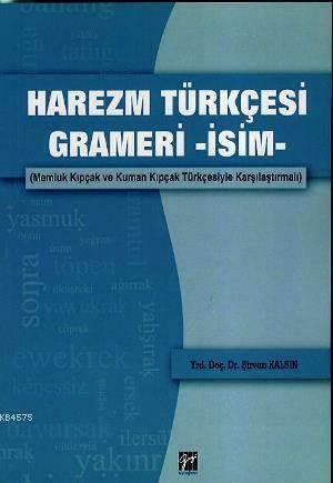 Harezm Türkçesi Grameri - İsim