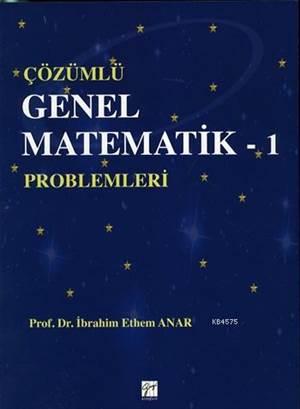 Çözümlü Genel Matematik-1; Problemleri