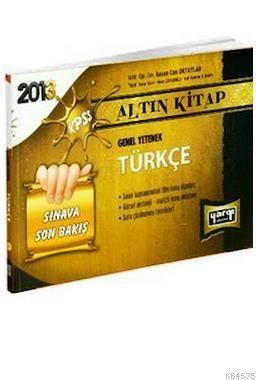 KPSS Türkçe Sınava Son Bakış Altın Kitap
