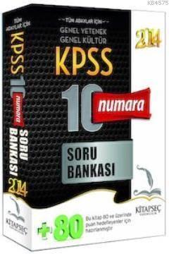 KPSS Genel Yetenek Genel Kültür 10 Numara Soru Bankası