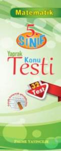 Palme Yaprak Test 5.Sınıf Matematik *Yeni*