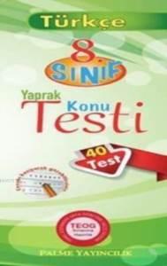 Palme Yaprak Test 8.Sınıf Türkçe