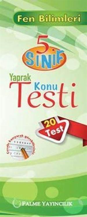 5. Sınıf Fen Bilimleri Yaprak Test (20 Test)