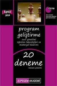 KPSS Program Geliştirme; Sınıf Yönetimi, Öğretim Teknolojileri ve Materyal Tasarımı Tamamı Çözümlü 20 Deneme 2014