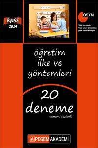 KPSS Eğitim Bilimleri Öğretim İlke ve Yöntemleri Tamamı Çözümlü 20 Deneme 2014