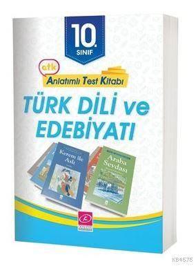 10. Sınıf Türk Dili Ve Edebiyatı Anlatımlı Test Kitabı