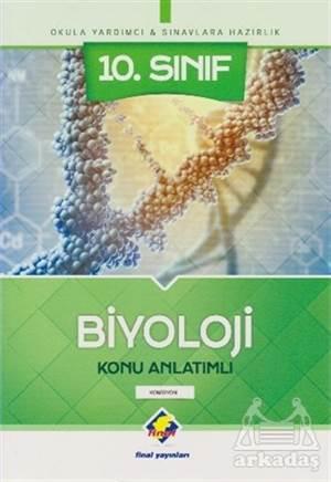 10. Sınıf Biyoloji Konu Anlatımlı