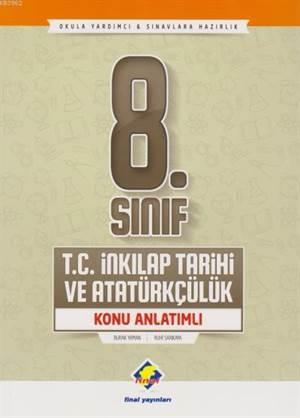 8. Sınıf T.C. İnkılap Tarihi Ve Atatürkçülük Konu Anlatımlı