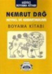 Nemrut Dağ Heykel Ve Kabartmaları Boyama Kitabı