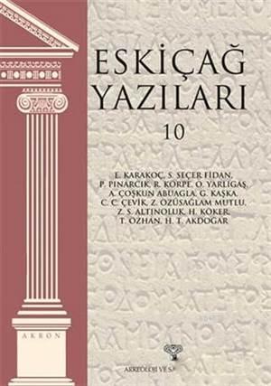 Eskiçağ Yazıları 10; Akron 13