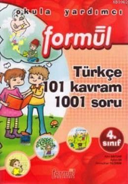 4. Sınıf Türkçe 101 Kavram 1001 Soru