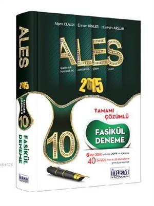 ALES Tamamı Çözümlü 10 Fasikül Deneme Sınavı 2015