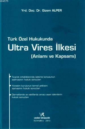 Türk Özel Hukukunda Ultra Vires İlkesi