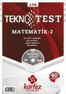 LYS Matematik-2 Tekno Test Çözüm Dvdli