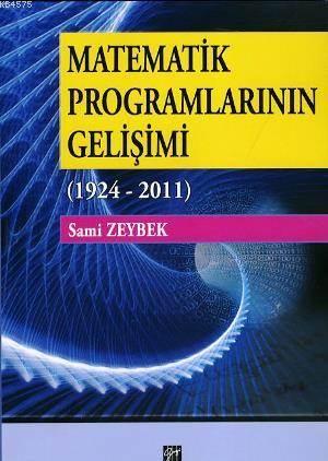 Matematik Programlarının Gelişimi (1924-2011)