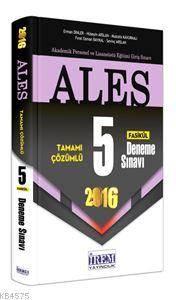 ALES Tamamı Çözümlü 5 Fasikül Deneme Sınavı 2016