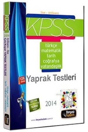 KPSS Lise - Ön Lisans Yaprak Test 2014