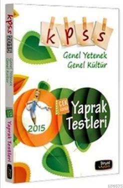 2015 KPSS Genel Yetenek - Genel Kültür Çek Kopar Yaprak Test