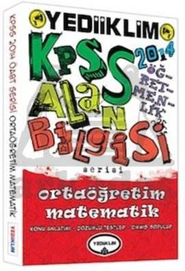 2014 KPSS Alan Bilgisi - Ortaöğretim Matematik