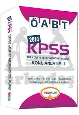 Yediiklim KPSS ÖABT Türk Dil Edebiyatı Öğretmenliği