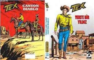 Tex Klasik Seri 7; Teks'e Bir Yıldız - Canyon Diablo