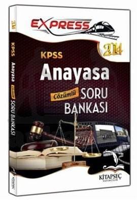 2014 Express KPSS Anayasa Çözümlü Soru Bankası