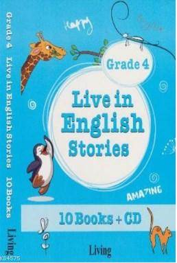 Live İn English Stories Grade 4 - 10 Books-CD