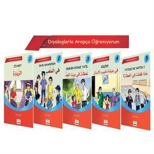 Diyaloglarla Arapça Öğreniyorum - Hikaye Seti