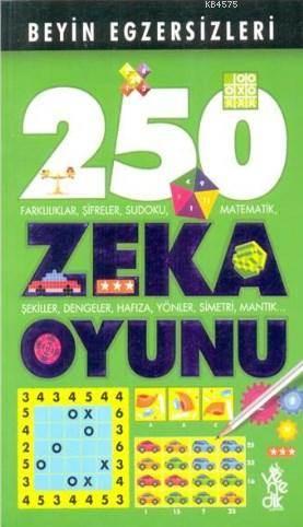 Beyin Egzersizleri 2; 250 Zeka Oyunu