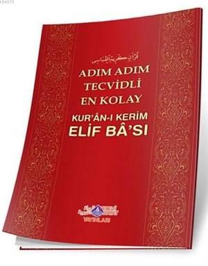 Adım Adım Tecvidli En Kolay Kur'an-I Kerim Elif Ba'sı
