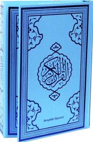 Kur'an-I Kerim (Mavi Kapak-Bilgisayar Hattı-4 Renkli)