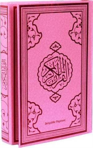 Kur'an-I Kerim (Bilgisayar Hattı-Orta Boy-4 Renkli)
